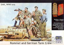 MASTERBOX GERMAN TANKMAN AFRIKA KORPS II WORLD WAR  MB3559